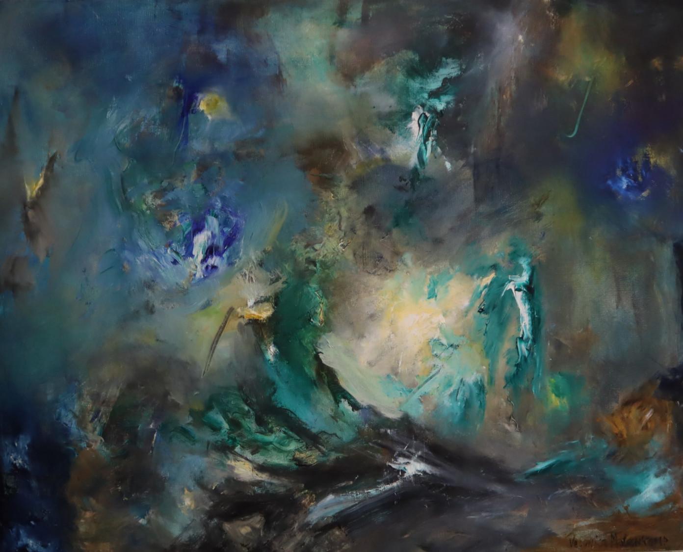 Nachtwandeling (80 x 100)